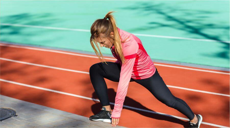 calentamiento y actividad física